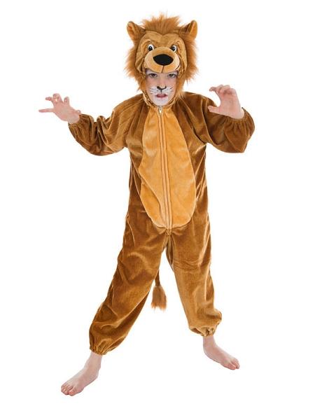 deguisement 1M40 lion jungle peluche