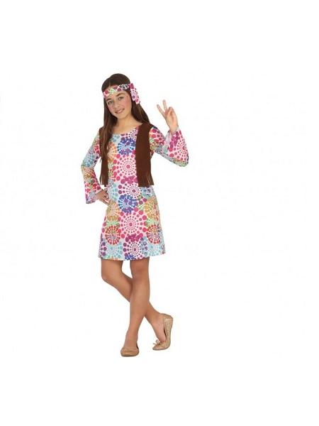 deguisement 10 12ANS hippie fille