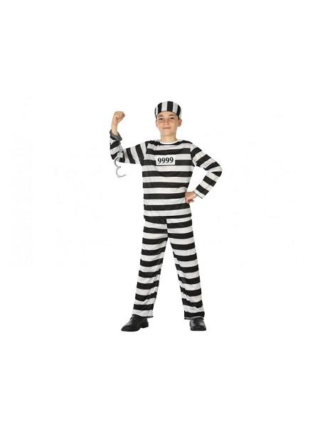deguisement 10 12ANS prisonnier