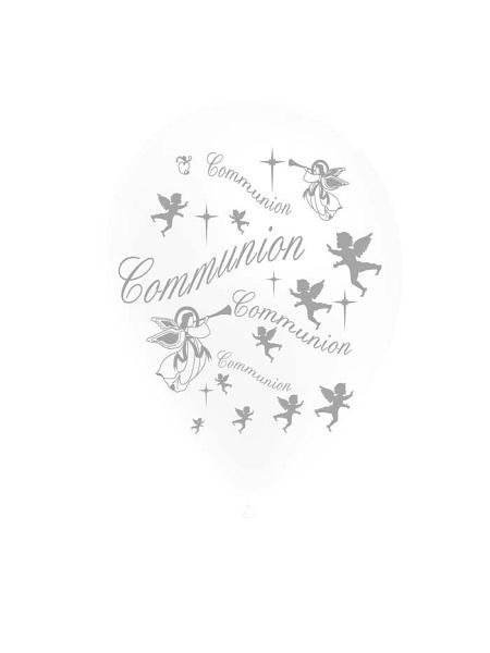 ballons x10/D28cm communion